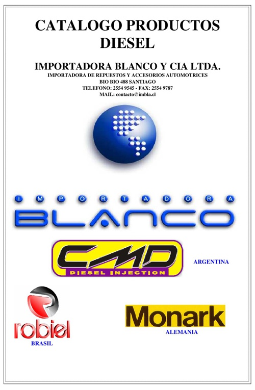 Catálogo Diesel 2013
