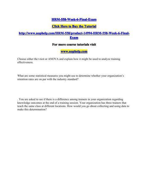 HRM-558-Week-6-Final-Exam
