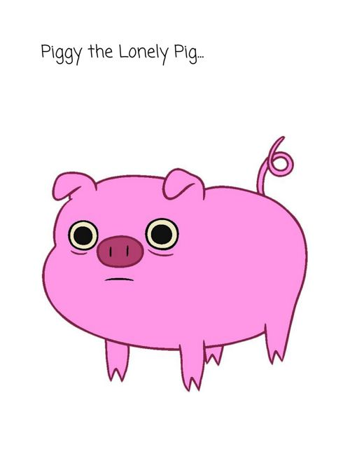The Lonely Pig