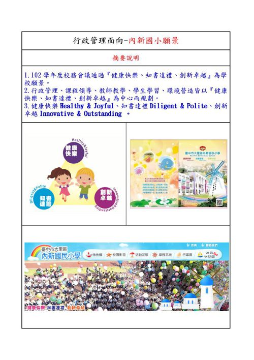 104校務評鑑指標(行政管理)新版