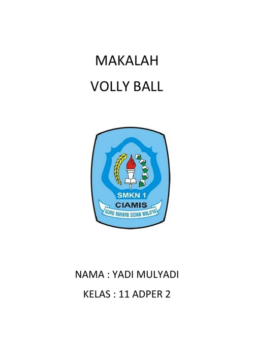 Makalah volly ball