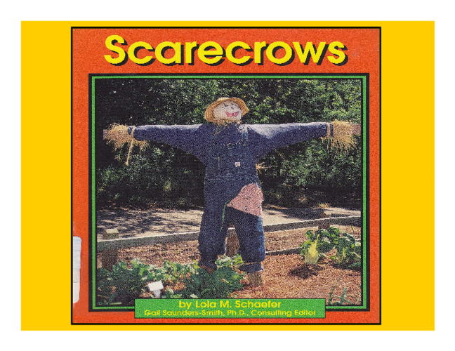 Scarecrows by Lola M. Schaefer
