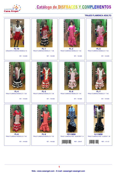 Catalogo Flamenca 2016