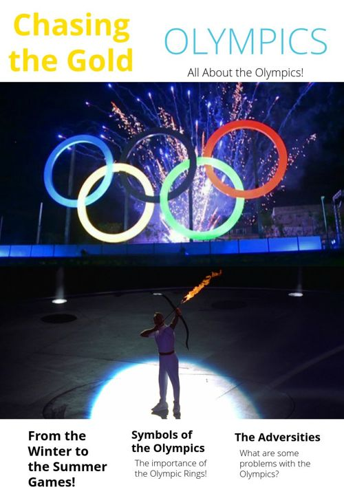 Chasing the Olympic Gold - All About the Olympics