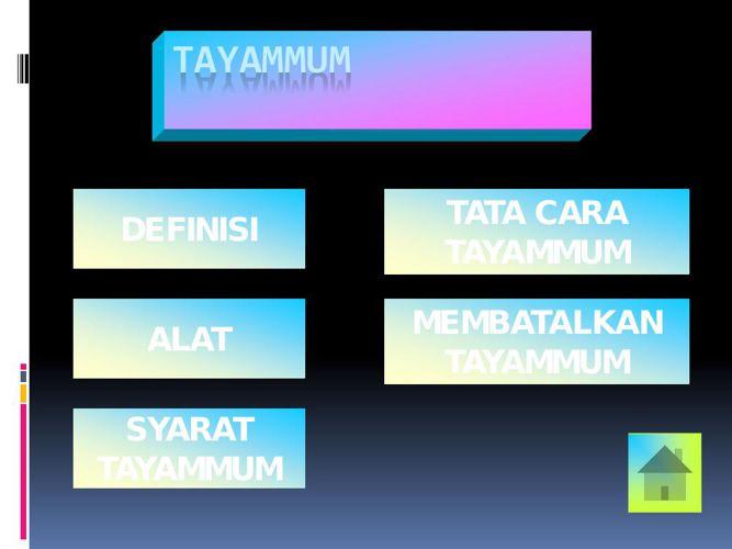 Tatacara Tayamum