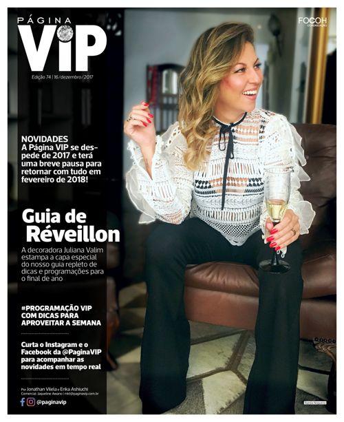 Leia ONLINE o caderno Página VIP de 16/12/2017