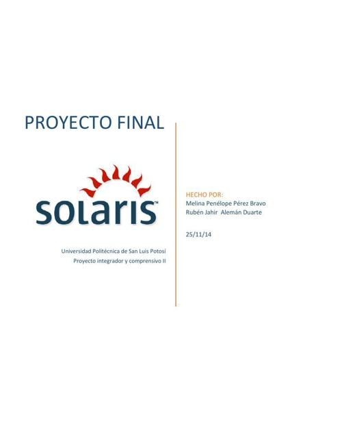 proyecto final de solaris_jahir y melina