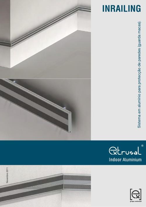 Extrusal Indoor Aluminium - Inrailing