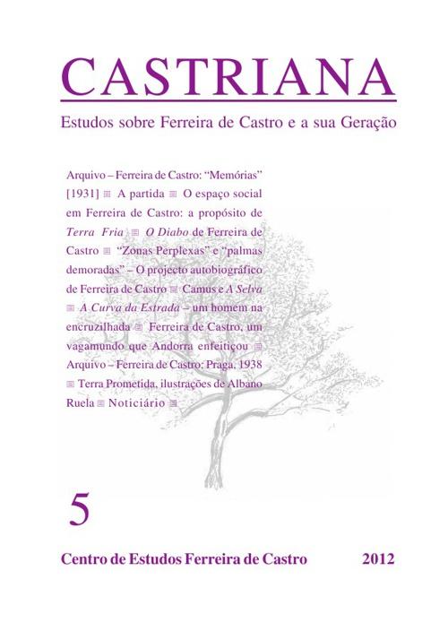CASTRIANA 5 - Centro de Estudos Ferreira de Castro