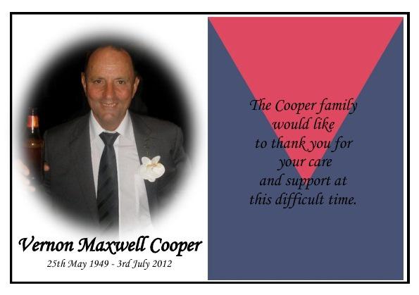 Vernon Cooper