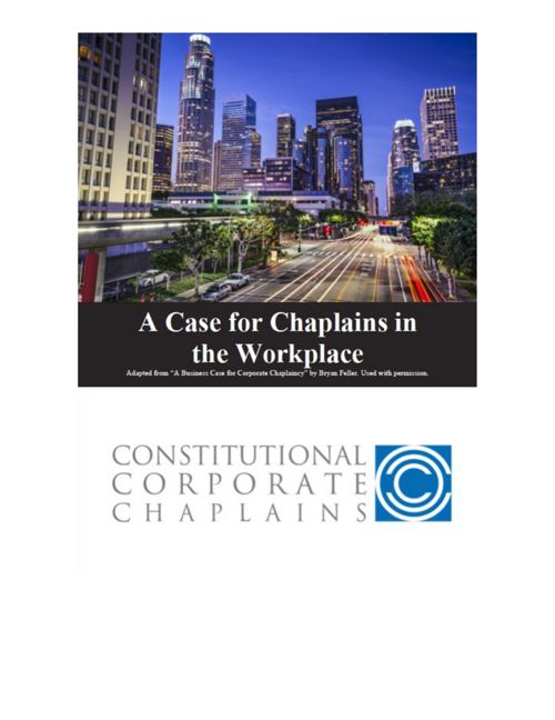 A CASE STUDY FOR CHAPLAINS IN THE WORKPLACE
