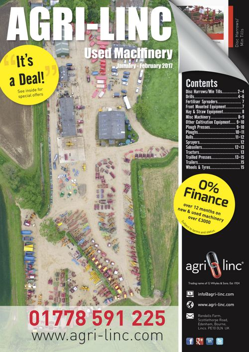 Agri-Linc Used Machinery Supplement Jan 2017