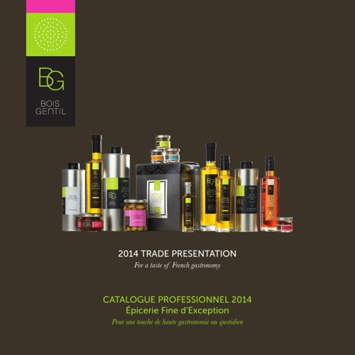 BG Catalogue Olive Oil 2014