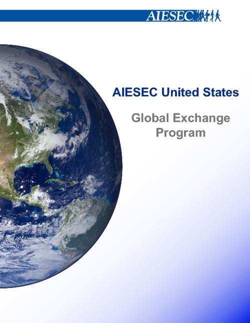 AIESEC BROCHURE