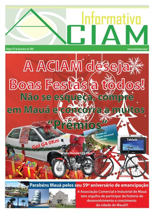 Informativo Aciam Mês Dezembro/2013