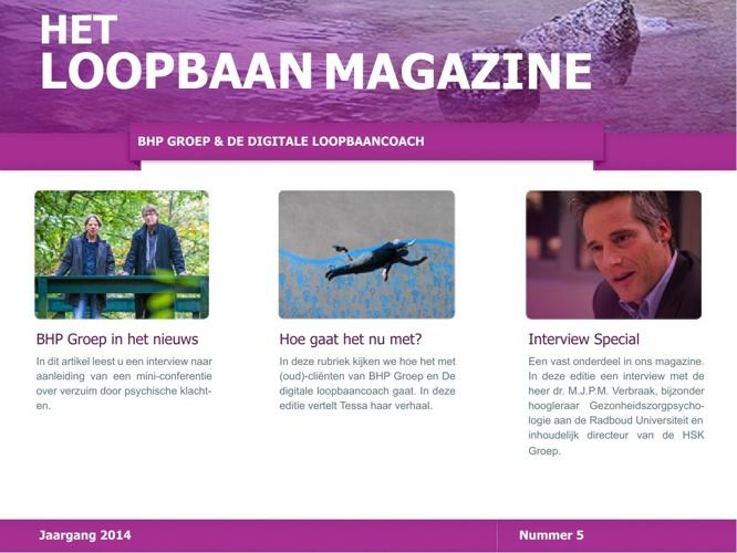 Het Loopbaan Magazine - nummer 5