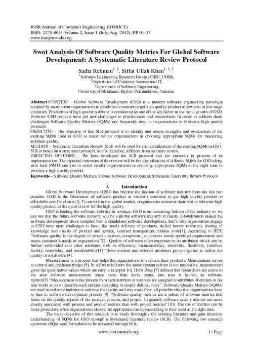 IOSR Journal of Computer Engineering (IOSRJCE)
