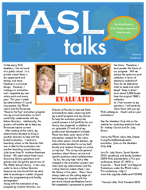 TASL Talks March 2012