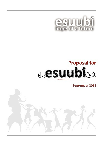 Esuubi Café Proposal