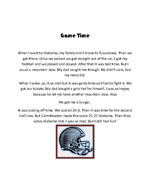 Game Time by Cody