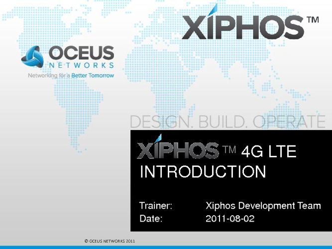 Xiphos Training