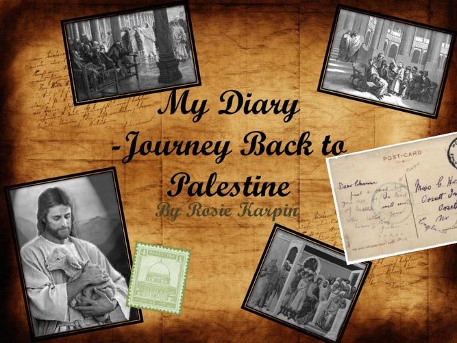 Rosie's jouney to Palestine