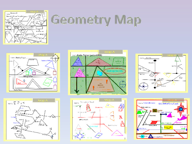Geometry Map- Student Work