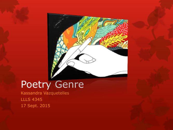 Poetry_Genre