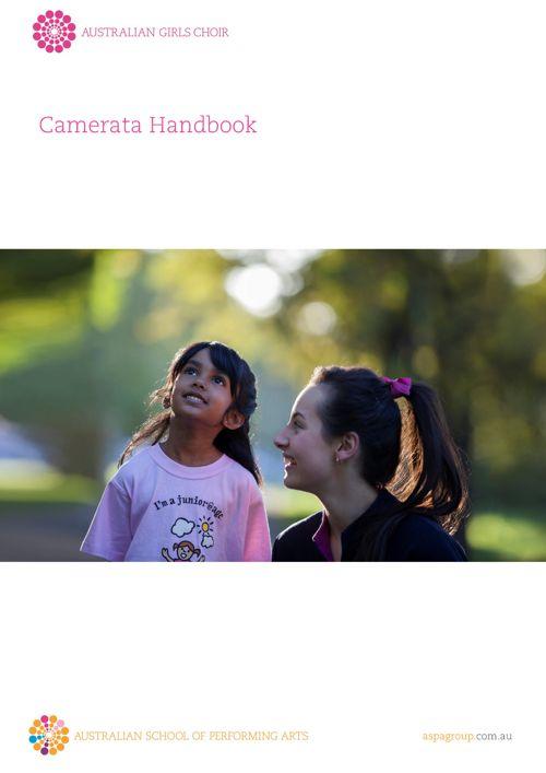 2018 Camerata Handbook