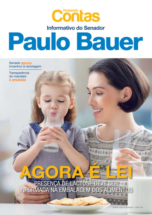 Prestando Contas Senador Paulo Bauer