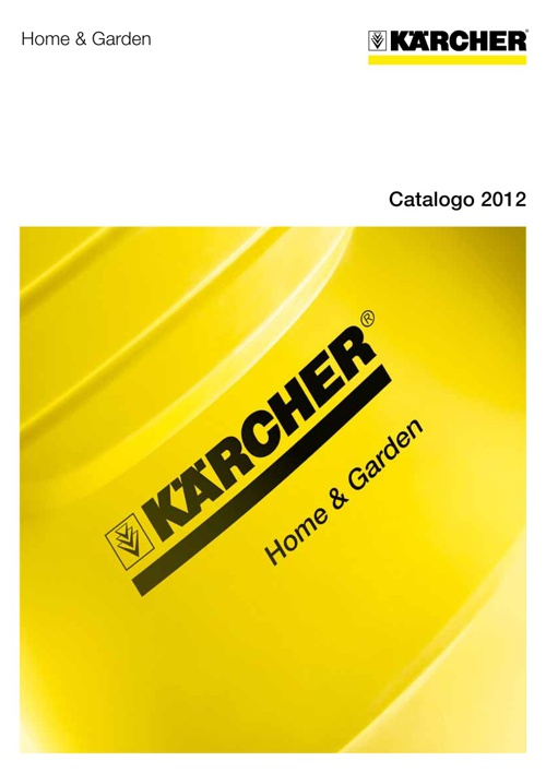 Catalogo Kaercher Home and Garden 2012/2013
