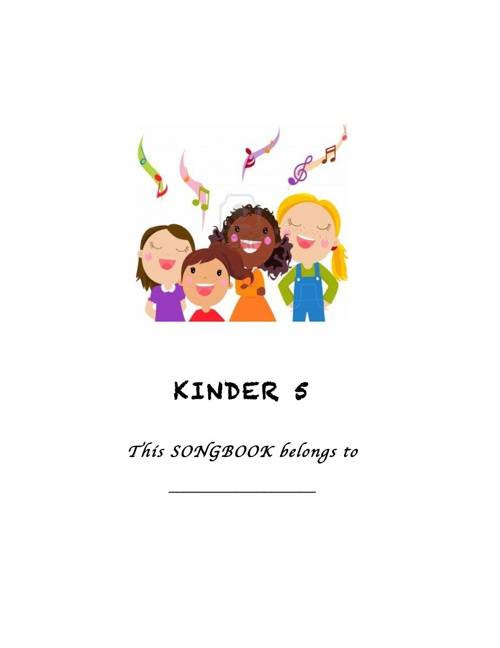 Kinder Song Book