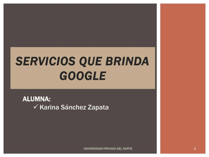 Karina Sanchez-Google