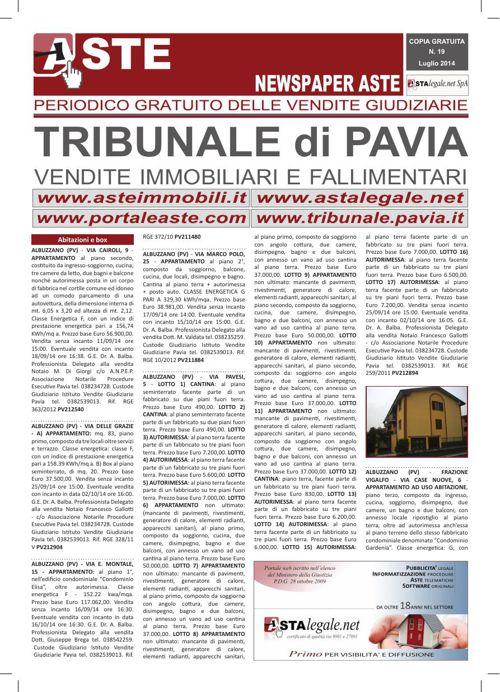 Pavia luglio 2014