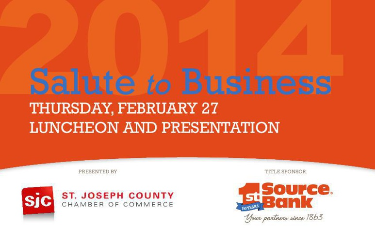 SJC Chamber Salute to Business Program 2014