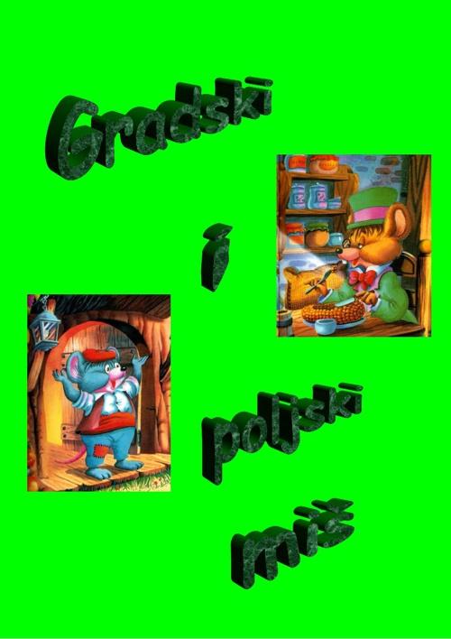 Gradski i poljski miš