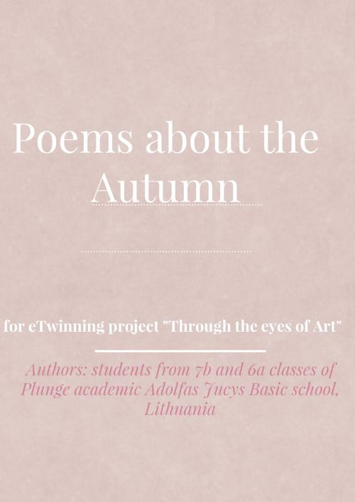 Poems about the Autumn