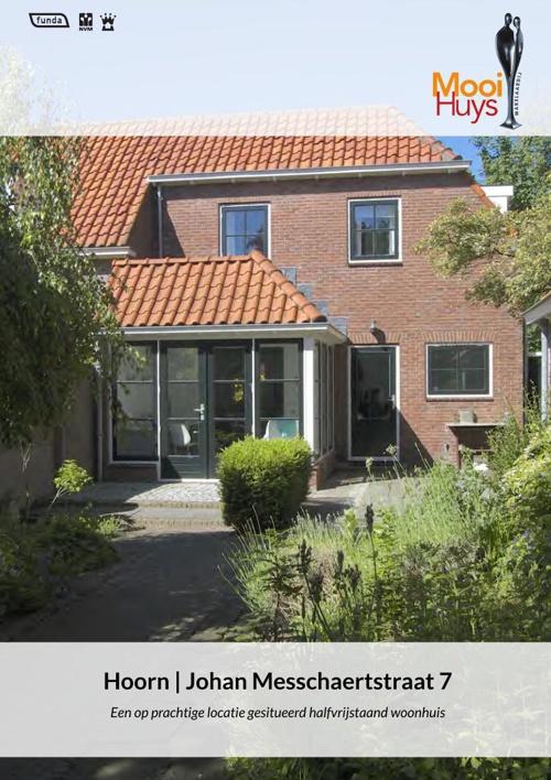 Te Koop: Johan Messchaertstraat 7 te Hoorn