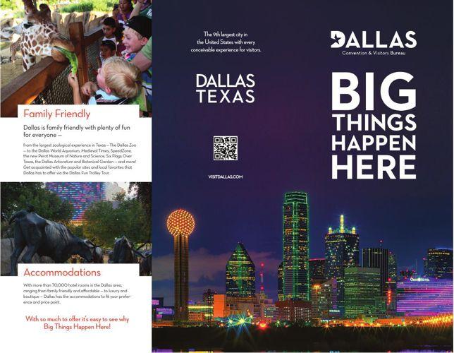 Dallas Tourism Brochure