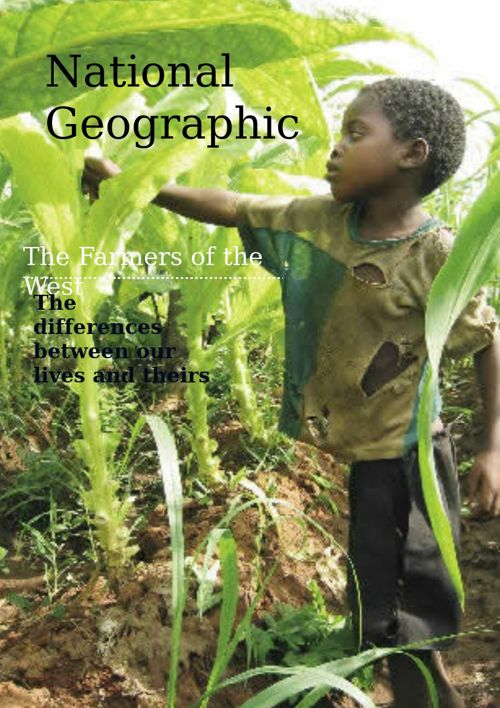 Copy of Copy of Agriculture in Ibo Culture
