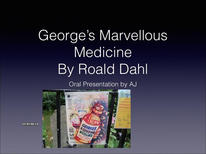 My Oral Presentation #1 2013