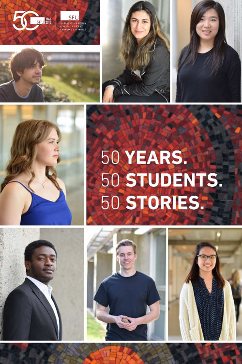 50 Years. 50 Students. 50 Stories.