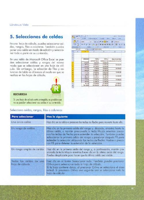 5 - Selecciones de Celdas