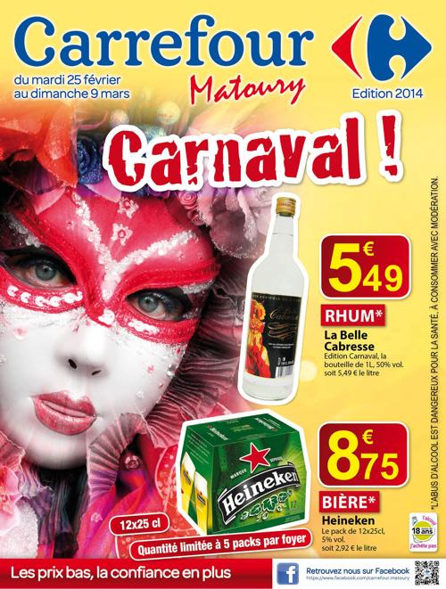 Catalogue carnaval 2014