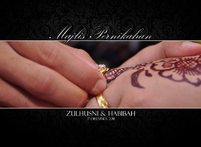 Habibah & Zulhusni Photobook