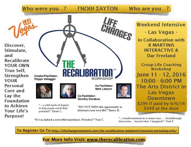 The Recalibration Weekend Intensive Las Vegas June 2016