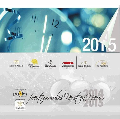 Feestformules Kerst en Nieuwjaar 2014 - 2015