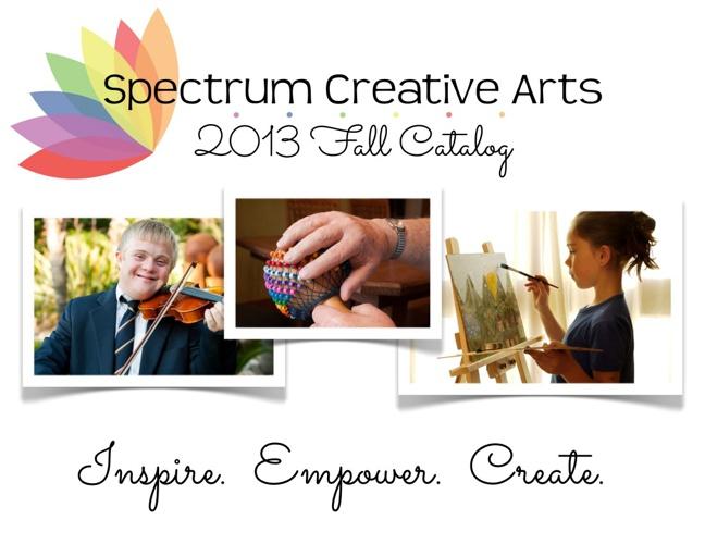 Spectrum Creative Arts 2013 Fall Catalog