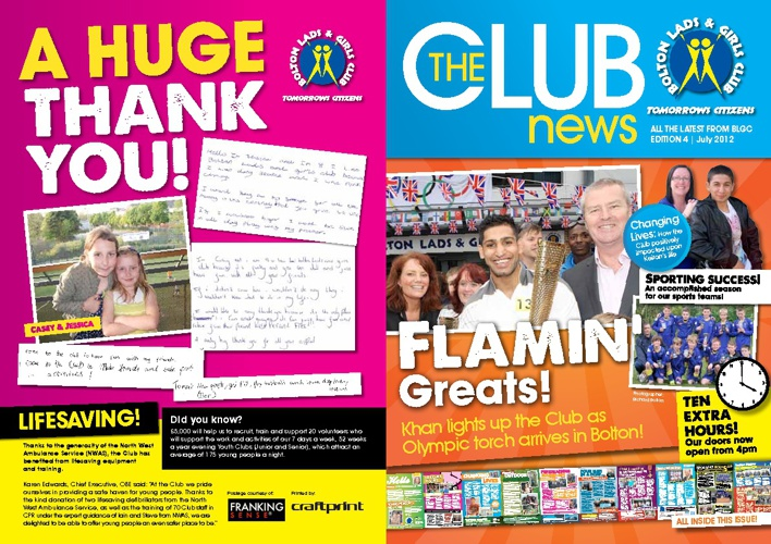 The Club - July 2012 newsletter