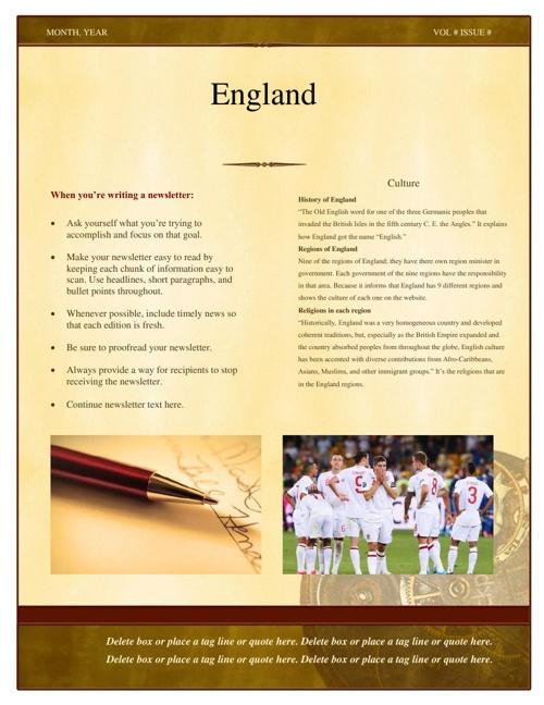 England culture hunter